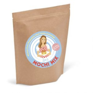 Isa's Mochi Mix - Package Front